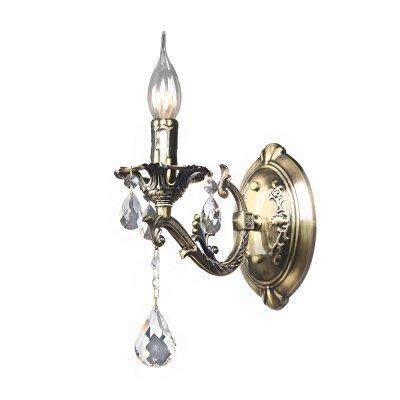 Бра Классика 3-4280-1-AB E14 МаксисветОжидается<br>Форма модели, цвет каркаса и характер декора подчеркивает принадлежность светильника к классическому стилю.<br><br>Выполненные в лучших традициях прошедших столетий, такие светильники пользуются неизменной популярностью среди ценителей изысканности и роскоши.<br><br>Хрустальные эламенты придают сияние и торжественность.<br><br>Рекомендуем дополнять светильники лампами в форме свеча на ветру.<br><br>Стилевые решения интерьера: Классика.<br><br>Тип помещения: гостиная, столовая, спальная.<br><br>В интерьере бра могут быть как отдельным элементом, так и дополнением к люстре этой серии (арт. 2-4280-6-AB E14).<br><br>S освещ. до, м2: 3<br>Тип цоколя: E14<br>Цвет арматуры: Бронза<br>Количество ламп: 1<br>Ширина, мм: 230<br>Высота полная, мм: 280<br>Длина, мм: 115