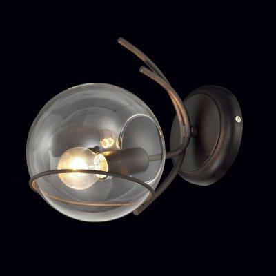 Бра Модерн 3-4812-1-CF E14 МаксисветОжидается<br><br><br>S освещ. до, м2: 3<br>Тип цоколя: E14<br>Цвет арматуры: Коричневый<br>Количество ламп: 1<br>Ширина, мм: 150<br>Высота полная, мм: 225<br>Длина, мм: 240<br>Оттенок (цвет): Прозрачный