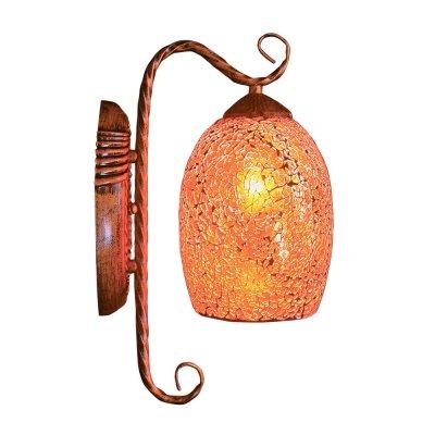 Бра Этника 3-8035-1-BKS E27 МаксисветОжидается<br><br><br>S освещ. до, м2: 3<br>Тип цоколя: E27<br>Цвет арматуры: Патинированный<br>Количество ламп: 1<br>Ширина, мм: 210<br>Высота полная, мм: 330<br>Длина, мм: 145<br>Оттенок (цвет): Разноцветный