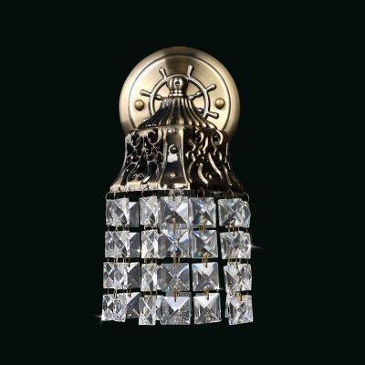 Бра Хрусталь 3-8235-1-AB E14 МаксисветОжидается<br>Эта серия светильников коллекции Хрусталь исполнена в оригинальной марокканской стилистике.<br><br>Стиль подойдет для тех, кто жаждет нестандартных решений в интерьере своего дома.<br><br>Ажурные плафоны под бронзу с нитями хрусталя создадут сказочную игру света.<br><br>Стилевые решения интерьера: классика, фьюжн.<br><br>Тип помещения: гостиная, столовая, спальная.<br><br>S освещ. до, м2: 3<br>Тип цоколя: E14<br>Цвет арматуры: Бронза<br>Количество ламп: 1<br>Ширина, мм: 170<br>Высота полная, мм: 280<br>Длина, мм: 120<br>Оттенок (цвет): Прозрачный