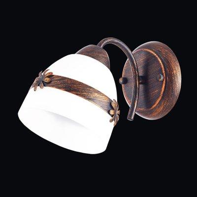 Бра Универсал 3-8598-1-BR E27 МаксисветОжидается<br><br><br>S освещ. до, м2: 3<br>Тип цоколя: E27<br>Цвет арматуры: Коричневый<br>Количество ламп: 1<br>Ширина, мм: 180<br>Высота полная, мм: 240<br>Длина, мм: 130<br>Оттенок (цвет): Белый