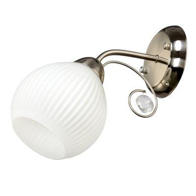 Бра Универсал 3-8685-1-ST E27 МаксисветОжидается<br><br><br>S освещ. до, м2: 3<br>Тип цоколя: E27<br>Цвет арматуры: Хром<br>Количество ламп: 1<br>Ширина, мм: 130<br>Высота полная, мм: 240<br>Длина, мм: 255<br>Оттенок (цвет): Белый
