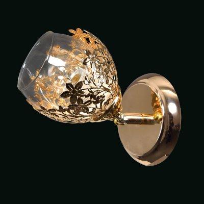 Бра Универсал 3-8865-1-FG E27 МаксисветОжидается<br><br><br>S освещ. до, м2: 3<br>Тип цоколя: E27<br>Цвет арматуры: Золото<br>Ширина, мм: 175<br>Высота полная, мм: 195<br>Длина, мм: 120
