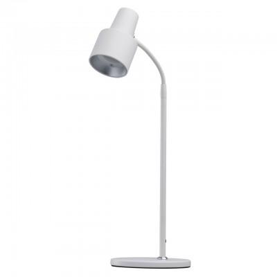 Светильник Mw-light 300034301Настольные лампы хай тек<br><br><br>Цветовая t, К: 3000<br>Тип лампы: LED<br>Тип цоколя: LED<br>Цвет арматуры: белый<br>Количество ламп: 1<br>Ширина, мм: 150<br>Длина, мм: 200<br>Высота, мм: 470<br>MAX мощность ламп, Вт: 5