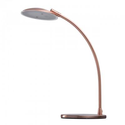 Светильник Mw-light 300034401Настольные лампы хай тек<br><br><br>Цветовая t, К: 3000<br>Тип лампы: LED<br>Тип цоколя: LED<br>Цвет арматуры: медный<br>Ширина, мм: 140<br>Длина, мм: 250<br>Высота, мм: 360<br>MAX мощность ламп, Вт: 5