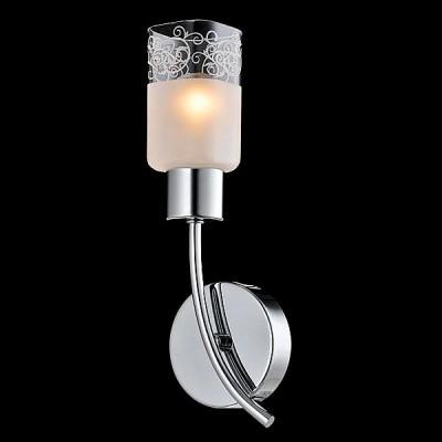 Светильник Евросвет 30017/1 хромСовременные<br><br><br>Тип лампы: Накаливания / энергосбережения / светодиодная<br>Тип цоколя: E14<br>Количество ламп: 1<br>Ширина, мм: 100<br>MAX мощность ламп, Вт: 40<br>Длина, мм: 100<br>Высота, мм: 280<br>Цвет арматуры: серебристый