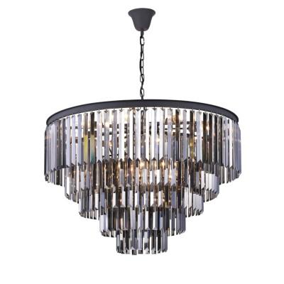 Светильник Divinare 3002/05 SP-18Подвесные<br><br><br>Тип лампы: Накаливания / энергосбережения / светодиодная<br>Тип цоколя: E14<br>Количество ламп: 18<br>Диаметр, мм мм: 800<br>Высота, мм: 750<br>MAX мощность ламп, Вт: 40W