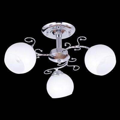 Светильник Евросвет 30023/3 хромПотолочные<br><br><br>Установка на натяжной потолок: Ограничено<br>S освещ. до, м2: 9<br>Крепление: Планка<br>Тип товара: Люстра<br>Цветовая t, К: 3000<br>Тип лампы: накаливания / энергосберегающая / светодиодная<br>Тип цоколя: E27<br>Количество ламп: 3<br>MAX мощность ламп, Вт: 60<br>Диаметр, мм мм: 480<br>Высота, мм: 240<br>Поверхность арматуры: глянцевый<br>Цвет арматуры: серебристый<br>Общая мощность, Вт: 180