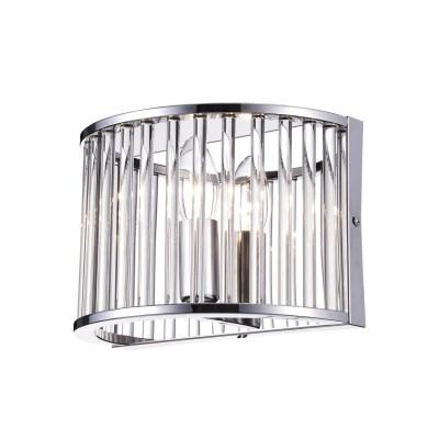 Светильник Divinare 3004/02 AP-1Современные<br><br><br>Тип лампы: Накаливания / энергосбережения / светодиодная<br>Тип цоколя: E27<br>Цвет арматуры: серебристый<br>Количество ламп: 1<br>Ширина, мм: 220<br>Расстояние от стены, мм: 130<br>Высота, мм: 150<br>MAX мощность ламп, Вт: 60W