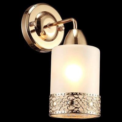 Светильник Евросвет 30040/1 золотоМодерн<br><br><br>Тип лампы: Накаливания / энергосбережения / светодиодная<br>Тип цоколя: E14<br>Количество ламп: 1<br>Ширина, мм: 100<br>MAX мощность ламп, Вт: 60<br>Длина, мм: 160<br>Высота, мм: 245<br>Цвет арматуры: Золотой