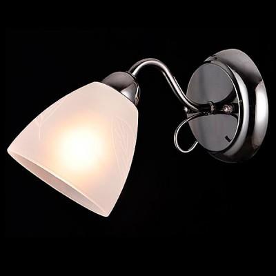Светильник Евросвет 30055/1 черный жемчугМодерн<br><br><br>Тип лампы: Накаливания / энергосбережения / светодиодная<br>Тип цоколя: E14<br>Количество ламп: 1<br>Ширина, мм: 120<br>MAX мощность ламп, Вт: 60<br>Длина, мм: 240<br>Высота, мм: 140<br>Цвет арматуры: серебристый