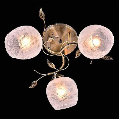 Светильник Евросвет 30059/3 античная бронзаПотолочные<br><br><br>S освещ. до, м2: 9<br>Тип лампы: Накаливания / энергосбережения / светодиодная<br>Тип цоколя: E27<br>Количество ламп: 3<br>MAX мощность ламп, Вт: 60<br>Диаметр, мм мм: 500<br>Высота, мм: 230<br>Цвет арматуры: бронзовый