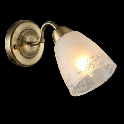 Светильник Евросвет 30080/1 античная бронзаМодерн<br><br><br>Тип лампы: Накаливания / энергосбережения / светодиодная<br>Тип цоколя: E14<br>Количество ламп: 1<br>Ширина, мм: 110<br>MAX мощность ламп, Вт: 60<br>Длина, мм: 265<br>Высота, мм: 160<br>Цвет арматуры: бронзовый