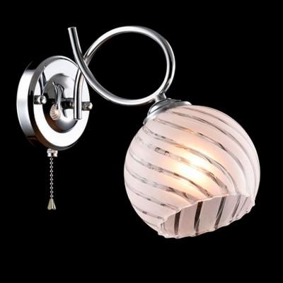 Светильник Евросвет 30094/1 хромМодерн<br><br><br>Тип лампы: Накаливания / энергосбережения / светодиодная<br>Тип цоколя: E27<br>Количество ламп: 1<br>Ширина, мм: 140<br>MAX мощность ламп, Вт: 40<br>Длина, мм: 220<br>Высота, мм: 270<br>Цвет арматуры: серебристый хром