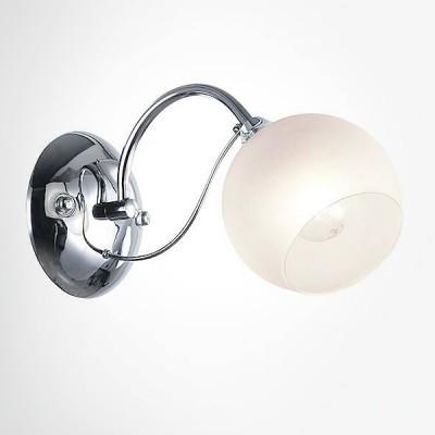 Евросвет 30102/1 хромСовременные<br><br><br>Тип лампы: Накаливания / энергосбережения / светодиодная<br>Тип цоколя: E14<br>Количество ламп: 1<br>Ширина, мм: 140<br>MAX мощность ламп, Вт: 60<br>Расстояние от стены, мм: 270<br>Высота, мм: 160