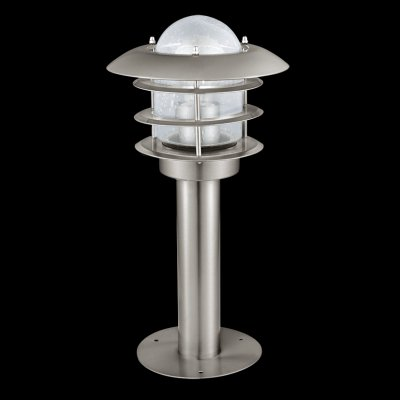 Eglo MOUNA 30182 светильник уличныйОдиночные столбы<br>Обеспечение качественного уличного освещения – важная задача для владельцев коттеджей. Компания «Светодом» предлагает современные светильники, которые порадуют Вас отличным исполнением. В нашем каталоге представлена продукция известных производителей, пользующихся популярностью благодаря высокому качеству выпускаемых товаров.   Уличный светильник Eglo 30182 не просто обеспечит качественное освещение, но и станет украшением Вашего участка. Модель выполнена из современных материалов и имеет влагозащитный корпус, благодаря которому ей не страшны осадки.   Купить уличный светильник Eglo 30182, представленный в нашем каталоге, можно с помощью онлайн-формы для заказа. Чтобы задать имеющиеся вопросы, звоните нам по указанным телефонам.<br><br>Тип лампы: накаливания / энергосбережения / LED-светодиодная<br>Тип цоколя: E27<br>MAX мощность ламп, Вт: 60<br>Диаметр, мм мм: 205<br>Размеры основания, мм: 150<br>Высота, мм: 400<br>Оттенок (цвет): прозрачный<br>Цвет арматуры: серебристый<br>Общая мощность, Вт: 2