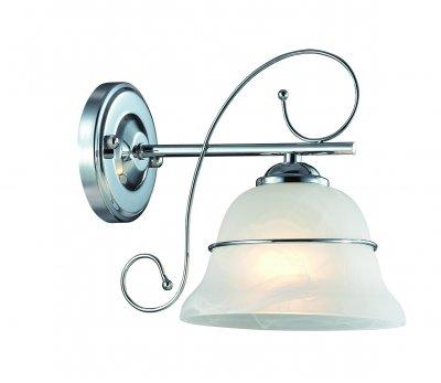 Настенный светильник бра Lumion 3021/1W NEVIAСовременные<br>Бра 3021/1W серии Nevia оформлена в современном стиле. Светильник состоит из стеклянного  плафона,украшенного тонким металлическим ободком, и хромовой арматуры. Классические изгибы арматуры в данной модели прекрасно сочетаются с современным цветовым решением. Цоколь E27. Мощность 1x40W. Нет ламп в комплекте.<br><br>Крепление: Настенное<br>Тип лампы: накаливания / энергосбережения / LED-светодиодная<br>Тип цоколя: E27<br>Цвет арматуры: серебристый<br>Количество ламп: 1<br>Ширина, мм: 235<br>Диаметр, мм мм: 235<br>Длина, мм: 170<br>Высота, мм: 220<br>MAX мощность ламп, Вт: 40