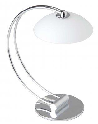 Лампа настольная Brilliant G30248/15 EIFFELСовременные<br>Зачастую мы ищем идеальное освещение для своего дома и уделяем этому достаточно много времени. Так, например, если нам нужен светильник с количеством ламп - 1 и цвет плафонов должен быть - белый, а материал плафонов только стекло! То нам, как вариант, подойдет модель - лампа настольная Brilliant G30248/15.<br><br>S освещ. до, м2: 2<br>Тип лампы: галогенная / LED-светодиодная<br>Тип цоколя: G9<br>Количество ламп: 1<br>MAX мощность ламп, Вт: 40<br>Высота, мм: 300<br>Цвет арматуры: серебристый