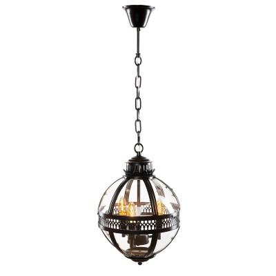 Ретро светильник Loft it 3043-BLподвесные люстры лофт<br><br><br>Установка на натяжной потолок: Да<br>S освещ. до, м2: 6<br>Тип лампы: Накаливания / энергосбережения / светодиодная<br>Тип цоколя: E14<br>Количество ламп: 3<br>Диаметр, мм мм: 300<br>Высота, мм: 430 - 1500<br>MAX мощность ламп, Вт: 40