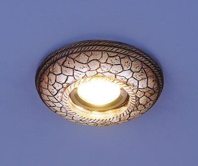 Светильник Электростандарт 3080 белая подсветкакерамические встраиваемые светильники<br>