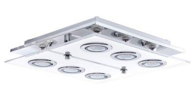 Настенно-потолочный светильник Eglo 30932 CABOлюстры хай тек потолочные<br>Компания «Светодом» предлагает широкий ассортимент люстр от известных производителей. Представленные в нашем каталоге товары выполнены из современных материалов и обладают отличным качеством. Благодаря широкому ассортименту Вы сможете найти у нас люстру под любой интерьер. Мы предлагаем как классические варианты, так и современные модели, отличающиеся лаконичностью и простотой форм.  Стильная люстра Eglo 30932 станет украшением любого дома. Эта модель от известного производителя не оставит равнодушным ценителей красивых и оригинальных предметов интерьера. Люстра Eglo 30932 обеспечит равномерное распределение света по всей комнате. При выборе обратите внимание на характеристики, позволяющие приобрести наиболее подходящую модель. Купить понравившуюся люстру по доступной цене Вы можете в интернет-магазине «Светодом».
