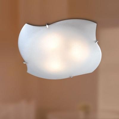 Светильник Сонекс 3115 хром LabirintДекоративные<br>Настенно потолочный светильник Сонекс (Sonex) 3115 подходит как для установки в вертикальном положении - на стены, так и для установки в горизонтальном - на потолок. Для установки настенно потолочных светильников на натяжной потолок необходимо использовать светодиодные лампы LED, которые экономнее ламп Ильича (накаливания) в 10 раз, выделяют мало тепла и не дадут расплавиться Вашему потолку.<br><br>S освещ. до, м2: 20<br>Тип лампы: накаливания / энергосбережения / LED-светодиодная<br>Тип цоколя: E27<br>Количество ламп: 3<br>Ширина, мм: 451<br>MAX мощность ламп, Вт: 100<br>Высота, мм: 451<br>Цвет арматуры: серебристый