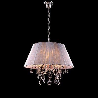 Люстра Евросвет 3125/5 хромПодвесные<br><br><br>Установка на натяжной потолок: Да<br>S освещ. до, м2: 20<br>Крепление: Крюк<br>Тип товара: Люстра подвесная<br>Тип лампы: накаливания / энергосбережения / LED-светодиодная<br>Тип цоколя: E14<br>Количество ламп: 5<br>MAX мощность ламп, Вт: 60<br>Диаметр, мм мм: 450<br>Высота, мм: 460 - 860<br>Цвет арматуры: серебристый