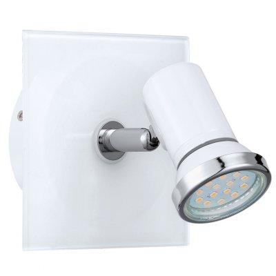 Eglo TAMARA 1 31262 Светильник поворотный спотОдиночные<br>Светильники-споты – это оригинальные изделия с современным дизайном. Они позволяют не ограничивать свою фантазию при выборе освещения для интерьера. Такие модели обеспечивают достаточно качественный свет. Благодаря компактным размерам Вы можете использовать несколько спотов для одного помещения.  Интернет-магазин «Светодом» предлагает необычный светильник-спот Eglo 31262 по привлекательной цене. Эта модель станет отличным дополнением к люстре, выполненной в том же стиле. Перед оформлением заказа изучите характеристики изделия.  Купить светильник-спот Eglo 31262 в нашем онлайн-магазине Вы можете либо с помощью формы на сайте, либо по указанным выше телефонам. Обратите внимание, что у нас склады не только в Москве и Екатеринбурге, но и других городах России.<br><br>Тип лампы: галогенная / LED-светодиодная<br>Тип цоколя: GU10<br>Ширина, мм: 120<br>MAX мощность ламп, Вт: 2<br>Размеры основания, мм: 0<br>Длина, мм: 120<br>Цвет арматуры: белый<br>Общая мощность, Вт: 1X2,5W