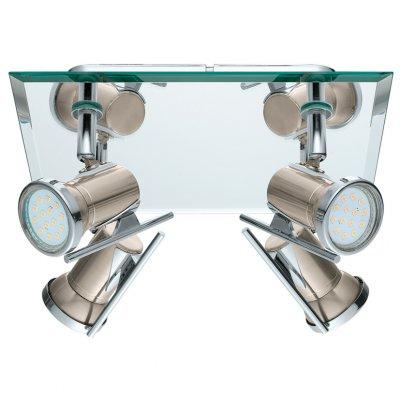 Eglo TAMARA 1 31267 Светильник поворотный спотС 4 лампами<br>Светильники-споты – это оригинальные изделия с современным дизайном. Они позволяют не ограничивать свою фантазию при выборе освещения для интерьера. Такие модели обеспечивают достаточно качественный свет. Благодаря компактным размерам Вы можете использовать несколько спотов для одного помещения.  Интернет-магазин «Светодом» предлагает необычный светильник-спот Eglo 31267 по привлекательной цене. Эта модель станет отличным дополнением к люстре, выполненной в том же стиле. Перед оформлением заказа изучите характеристики изделия.  Купить светильник-спот Eglo 31267 в нашем онлайн-магазине Вы можете либо с помощью формы на сайте, либо по указанным выше телефонам. Обратите внимание, что у нас склады не только в Москве и Екатеринбурге, но и других городах России.<br><br>Тип лампы: LED - светодиодная<br>Тип цоколя: GU10<br>Количество ламп: 4<br>MAX мощность ламп, Вт: 2<br>Размеры основания, мм: 0<br>Длина, мм: 240<br>Высота, мм: 260<br>Цвет арматуры: серый<br>Общая мощность, Вт: 4X2,5W
