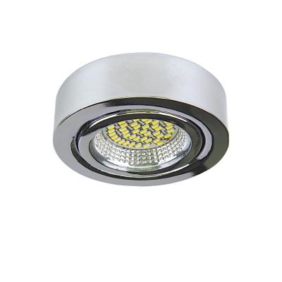 Светильник Lightstar 3134 MONDEКруглые<br><br><br>Цветовая t, К: 3000<br>Тип лампы: LED<br>Тип цоколя: LED<br>Диаметр, мм мм: 70<br>Высота, мм: 25