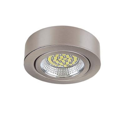 Светильник Lightstar 3135 MONDEКруглые<br><br><br>Цветовая t, К: 3000<br>Тип лампы: LED<br>Тип цоколя: LED<br>Диаметр, мм мм: 70<br>Высота, мм: 25