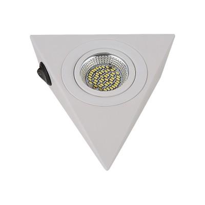 Светильник Lightstar 3140 MONDEМебельные<br><br><br>Цветовая t, К: 3000<br>Тип лампы: LED<br>Цвет арматуры: белый<br>Ширина, мм: 130<br>Длина, мм: 146<br>Высота, мм: 45