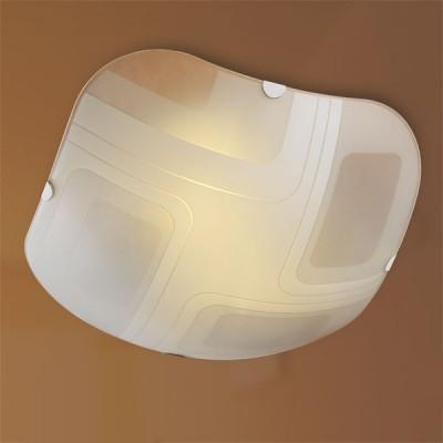 Светильник Сонекс 3141 хром LlusionДекоративные<br>Настенно потолочный светильник Сонекс (Sonex) 3141  подходит как для установки в вертикальном положении - на стены, так и для установки в горизонтальном - на потолок. Для установки настенно потолочных светильников на натяжной потолок необходимо использовать светодиодные лампы LED, которые экономнее ламп Ильича (накаливания) в 10 раз, выделяют мало тепла и не дадут расплавиться Вашему потолку.<br><br>S освещ. до, м2: 20<br>Тип товара: Светильник настенно-потолочный<br>Тип лампы: накаливания / энергосбережения / LED-светодиодная<br>Тип цоколя: E27<br>Количество ламп: 3<br>Ширина, мм: 400<br>MAX мощность ламп, Вт: 100<br>Длина, мм: 400<br>Цвет арматуры: серебристый