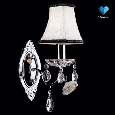 Светильник бра Евросвет 3145/1 хромКлассика<br><br><br>S освещ. до, м2: 2<br>Тип товара: Светильник настенный бра<br>Скидка, %: 47<br>Тип лампы: накал-я - энергосбер-я<br>Тип цоколя: E14<br>Количество ламп: 1<br>Ширина, мм: 240<br>MAX мощность ламп, Вт: 40<br>Длина, мм: 140<br>Высота, мм: 350<br>Цвет арматуры: серебристый