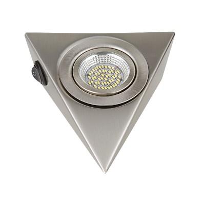Светильник Lightstar 3145 MONDEМебельные<br><br><br>Цветовая t, К: 3000<br>Тип лампы: LED<br>Тип цоколя: LED<br>Ширина, мм: 130<br>Длина, мм: 146<br>Высота, мм: 45