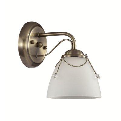 Настенный светильник бра Lumion 3146/1W DEBORAКлассические<br>Что нам известно о данной модели: Бра 3146/1W серии Debora оформлена в классическом стиле. Светильник состоит из стеклянного матового плафона, легонько украшенного цепочками с искусственным жемчугом, и арматуры цвета бронзы. Очередная базовая модель, которая доказывает, что элегантность - в простоте. Цоколь E27. Мощность 1x60W. Нет ламп в комплекте.<br><br>Крепление: Настенное<br>Тип лампы: накаливания / энергосбережения / LED-светодиодная<br>Тип цоколя: E27<br>Количество ламп: 1<br>Ширина, мм: 265<br>MAX мощность ламп, Вт: 60<br>Диаметр, мм мм: 265<br>Длина, мм: 110<br>Высота, мм: 183<br>Цвет арматуры: бронзовый