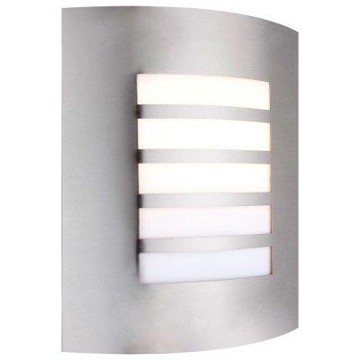 Светильник Globo 3156-5 OrLandoНастенные<br>Обеспечение качественного уличного освещения – важная задача для владельцев коттеджей. Компания «Светодом» предлагает современные светильники, которые порадуют Вас отличным исполнением. В нашем каталоге представлена продукция известных производителей, пользующихся популярностью благодаря высокому качеству выпускаемых товаров.   Уличный светильник Globo 3156-5 не просто обеспечит качественное освещение, но и станет украшением Вашего участка. Модель выполнена из современных материалов и имеет влагозащитный корпус, благодаря которому ей не страшны осадки.   Купить уличный светильник Globo 3156-5, представленный в нашем каталоге, можно с помощью онлайн-формы для заказа. Чтобы задать имеющиеся вопросы, звоните нам по указанным телефонам.<br><br>Тип лампы: накаливания / энергосбережения / LED-светодиодная<br>Тип цоколя: E27<br>Цвет арматуры: серебристый<br>Количество ламп: 1<br>Ширина, мм: 92<br>Длина, мм: 230<br>Высота, мм: 270<br>MAX мощность ламп, Вт: 60