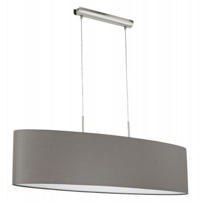 Eglo PASTERI 31587 Текстильные светильникиОжидается<br><br><br>Тип цоколя: E27<br>Цвет арматуры: никель матовый<br>Ширина, мм: 280<br>Размеры основания, мм: 0<br>Длина, мм: 1000<br>Высота, мм: 1100<br>Оттенок (цвет): антрацит-коричневый<br>MAX мощность ламп, Вт: 2<br>Общая мощность, Вт: 2X60W