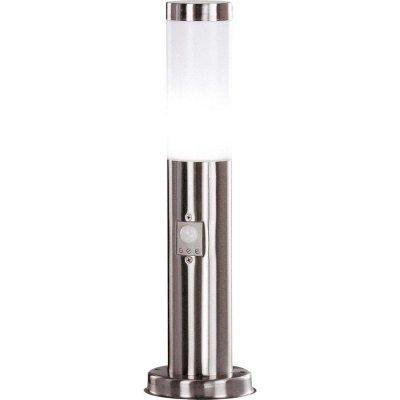 Светильник Globo 3158S BostonОдиночные столбы<br>Обеспечение качественного уличного освещения – важная задача для владельцев коттеджей. Компания «Светодом» предлагает современные светильники, которые порадуют Вас отличным исполнением. В нашем каталоге представлена продукция известных производителей, пользующихся популярностью благодаря высокому качеству выпускаемых товаров.   Уличный светильник Globo 3158S не просто обеспечит качественное освещение, но и станет украшением Вашего участка. Модель выполнена из современных материалов и имеет влагозащитный корпус, благодаря которому ей не страшны осадки.   Купить уличный светильник Globo 3158S, представленный в нашем каталоге, можно с помощью онлайн-формы для заказа. Чтобы задать имеющиеся вопросы, звоните нам по указанным телефонам.<br><br>Тип лампы: Накаливания / энергосбережения / светодиодная<br>Тип цоколя: E27<br>Цвет арматуры: серебристый<br>Количество ламп: 1<br>Диаметр, мм мм: 127<br>Высота, мм: 450<br>MAX мощность ламп, Вт: 60