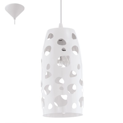 Eglo MANZANA 31637 Светильник подвеснойОдиночные<br><br><br>Тип товара: Светильник подвесной<br>Скидка, %: 42<br>Тип лампы: Накаливания / энергосбережения / светодиодная<br>Тип цоколя: E27<br>MAX мощность ламп, Вт: 2<br>Диаметр, мм мм: 135<br>Размеры основания, мм: 0<br>Высота, мм: 1100<br>Оттенок (цвет): белый<br>Цвет арматуры: белый<br>Общая мощность, Вт: 1X60W