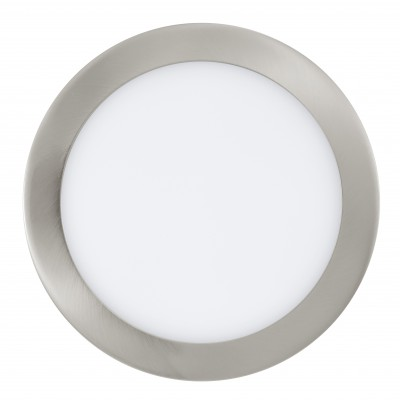 Eglo FUEVA 1 31675 Встраиваемые и накладные светильникиКруглые встраиваемые светильники<br>Встраиваемые светильники – популярное осветительное оборудование, которое можно использовать в качестве основного источника или в дополнение к люстре. Они позволяют создать нужную атмосферу атмосферу и привнести в интерьер уют и комфорт.   Интернет-магазин «Светодом» предлагает стильный встраиваемый светильник Eglo 31675. Данная модель достаточно универсальна, поэтому подойдет практически под любой интерьер. Перед покупкой не забудьте ознакомиться с техническими параметрами, чтобы узнать тип цоколя, площадь освещения и другие важные характеристики.   Приобрести встраиваемый светильник Eglo 31675 в нашем онлайн-магазине Вы можете либо с помощью «Корзины», либо по контактным номерам. Мы развозим заказы по Москве, Екатеринбургу и остальным российским городам.<br><br>Цветовая t, К: 3000 (теплый белый)<br>Тип цоколя: LED<br>Цвет арматуры: серебристый<br>Диаметр, мм мм: 225<br>Размеры основания, мм: 0<br>Диаметр врезного отверстия, мм: 25<br>MAX мощность ламп, Вт: 29<br>Общая мощность, Вт: 16,47W