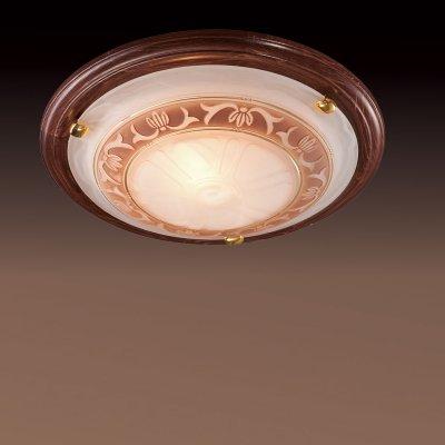 Светильник Сонекс 317 золото FiloКруглые<br>Настенно потолочный светильник Сонекс (Sonex) 317 подходит как для установки в вертикальном положении - на стены, так и для установки в горизонтальном - на потолок. Для установки настенно потолочных светильников на натяжной потолок необходимо использовать светодиодные лампы LED, которые экономнее ламп Ильича (накаливания) в 10 раз, выделяют мало тепла и не дадут расплавиться Вашему потолку.<br><br>S освещ. до, м2: 20<br>Тип лампы: накаливания / энергосбережения / LED-светодиодная<br>Тип цоколя: E27<br>Количество ламп: 3<br>MAX мощность ламп, Вт: 100<br>Диаметр, мм мм: 560<br>Цвет арматуры: золотой