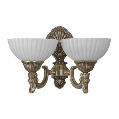 Mw light Афродита 317024502 Светильник браКлассические<br><br><br>Тип цоколя: Е27<br>Количество ламп: 2<br>Ширина, мм: 190<br>MAX мощность ламп, Вт: 60<br>Расстояние от стены, мм: 350<br>Высота, мм: 260