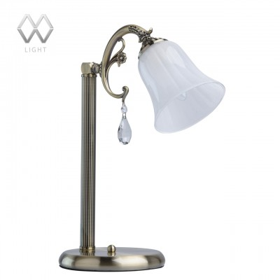 Настольная лампа Mw light 317034201 АфродитаКлассические<br>Настольная лампа – это не просто источник дополнительного освещения, но и оригинальный элемент декора. Его можно установить в спальне, гостиной, кабинете и других комнатах. Интернет-магазин «Светодом» предлагает настольные лампы разных стилей по доступным ценам. Благодаря большому ассортименту Вы обязательно найдете в нашем каталоге именно ту модель, которую искали.   Настольная лампа Mw-light 317034201 – прекрасный вариант для завершения интерьера. Ее можно включить одновременно с люстрой для более яркого освещения или без нее для создания уютной атмосферы, настраивающей на отдых.   Купить настольную лампу Mw-light 317034201 Вы можете с помощью виртуальной «Корзины» или по контактным номерам, указанным на сайте.<br><br>S освещ. до, м2: 3<br>Тип лампы: Накаливания / энергосбережения / светодиодная<br>Тип цоколя: E14<br>Количество ламп: 1<br>Ширина, мм: 180<br>MAX мощность ламп, Вт: 60<br>Длина, мм: 280<br>Высота, мм: 410<br>Цвет арматуры: бронзовый