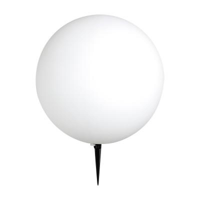 Светильник уличный Globo 31777 TOULAВ виде шара<br><br><br>Тип лампы: Накаливания / энергосбережения / светодиодная<br>Тип цоколя: E27<br>Цвет арматуры: белый<br>Количество ламп: 1<br>Диаметр, мм мм: 500<br>MAX мощность ламп, Вт: 100