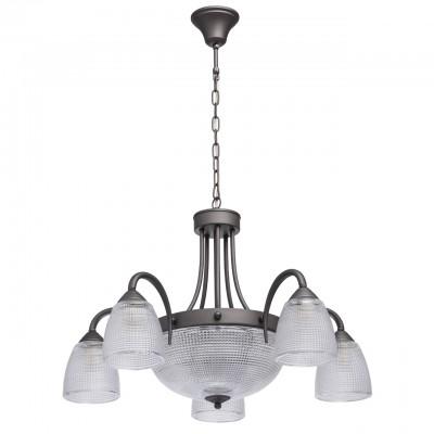 Mw light Олимп 318014508 ЛюстраПодвесные<br><br><br>Установка на натяжной потолок: Да<br>S освещ. до, м2: 10<br>Тип лампы: Накаливания / энергосбережения / светодиодная<br>Тип цоколя: E14<br>Количество ламп: 5<br>MAX мощность ламп, Вт: 40<br>Диаметр, мм мм: 720<br>Высота, мм: 550 - 800