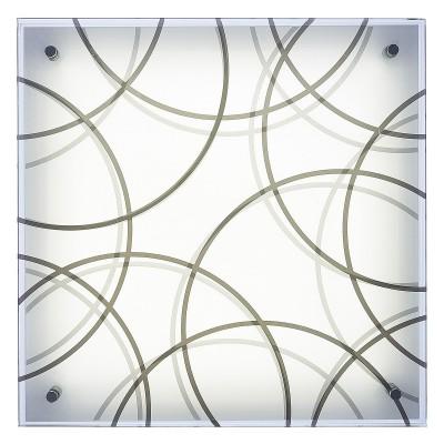Светильник светодиодный Сонекс 3204/DL OMAKA 48Втквадратные светильники<br><br><br>S освещ. до, м2: 24<br>Цветовая t, К: 4000<br>Тип лампы: LED - светодиодная<br>Цвет арматуры: серый / серебристый<br>Ширина, мм: 400<br>Длина, мм: 400<br>Расстояние от стены, мм: 105<br>Оттенок (цвет): белый<br>MAX мощность ламп, Вт: 48