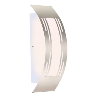 Светильник Globo 320940 CornusНастенные<br>Обеспечение качественного уличного освещения – важная задача для владельцев коттеджей. Компания «Светодом» предлагает современные светильники, которые порадуют Вас отличным исполнением. В нашем каталоге представлена продукция известных производителей, пользующихся популярностью благодаря высокому качеству выпускаемых товаров.   Уличный светильник Globo 320940 не просто обеспечит качественное освещение, но и станет украшением Вашего участка. Модель выполнена из современных материалов и имеет влагозащитный корпус, благодаря которому ей не страшны осадки.   Купить уличный светильник Globo 320940, представленный в нашем каталоге, можно с помощью онлайн-формы для заказа. Чтобы задать имеющиеся вопросы, звоните нам по указанным телефонам. Мы доставим Ваш заказ не только в Москву и Екатеринбург, но и другие города.<br><br>Тип лампы: накаливания / энергосбережения / LED-светодиодная<br>Тип цоколя: E27<br>Количество ламп: 1<br>Ширина, мм: 100<br>MAX мощность ламп, Вт: 20<br>Длина, мм: 318<br>Высота, мм: 90<br>Цвет арматуры: серебристый