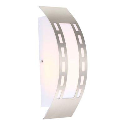 Светильник Globo 320941 CornusНакладные<br><br><br>Тип лампы: накаливания / энергосбережения / LED-светодиодная<br>Тип цоколя: E27<br>Цвет арматуры: серебристый<br>Количество ламп: 1<br>Ширина, мм: 100<br>Длина, мм: 318<br>Высота, мм: 90<br>MAX мощность ламп, Вт: 20
