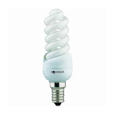 Novotech 321034 Лампа энергосберегающаяСпиральные<br>В интернет-магазине «Светодом» можно купить не только люстры и светильники, но и лампочки. В нашем каталоге представлены светодиодные, галогенные, энергосберегающие модели и лампы накаливания. В ассортименте имеются изделия разной мощности, поэтому у нас Вы сможете приобрести все необходимое для освещения.   Лампа Novotech 321034 обеспечит отличное качество освещения. При покупке ознакомьтесь с параметрами в разделе «Характеристики», чтобы не ошибиться в выборе. Там же указано, для каких осветительных приборов Вы можете использовать лампу Novotech 321034Novotech 321034.   Для оформления покупки воспользуйтесь «Корзиной». При наличии вопросов Вы можете позвонить нашим менеджерам по одному из контактных номеров. Мы доставляем заказы в Москву, Екатеринбург и другие города России.<br><br>Цветовая t, К: WW - теплый белый 2700-3000 К<br>Тип лампы: Энергосберегающая<br>Тип цоколя: E14<br>MAX мощность ламп, Вт: 11<br>Диаметр, мм мм: 31<br>Высота, мм: 100